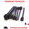 5X CONNECTEUR MALE POUR RUBAN LED RGB 5050/3528 SANS SOUDURE