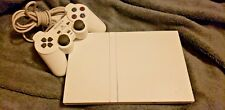 Sony Playstation 2 PS2 Slim Ceramic White Console SCPH-79001