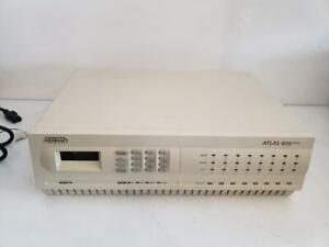 Adtran Atlas 800 Plus 1200184L1 1200771L1 Integrated Access Device Chassis