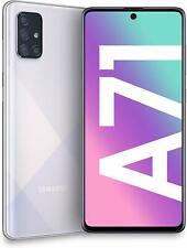 """Samsung Smartphone Galaxy A71 ARGENTO SILVER Display 6.7"""" Super AMOLED 6GB 128GB"""