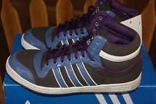 Women's Adidas Top Ten High Hi Purple Gray Sz 6 or 7 High