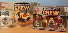 Block Tech Playset & Figures - Construction Crew