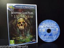 JEU PC Aventure et Objets Cachés LE 13 ème CRANE - Mystery Case Files