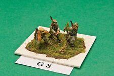 SGTS MESS G08 1/72 Diecast WWII German 50mm Mortar + 3 Crew