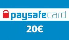 Paysafe Card Guthaben 20€ Voucher Ladebon Gutscheincode - Elektronischer Versand