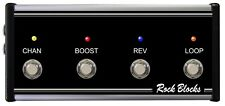 Rock Blocks - 4 Button Footswitch For Peavey Valveking Series II Only (Jacks)