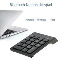Wireless BT3.0/USB2.0 18 Keys Number Pad Numeric Keypad Keyboard For PC Laptop