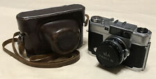 New ListingVintage Walz Envoy 35 Camera, Carry Case & Nitto Kogaku S Kominar 1:1.9 F=4.8cm