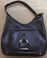 Polo Ralph Lauren Brown Leather Collection Purse Bag
