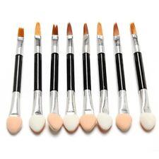 10 Disposable Make-Up Eye Shadow Sponge & Lip Brush Applicator Makeup Tool HOT