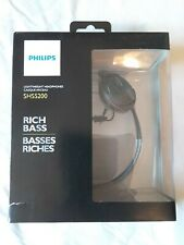 New Sealed Phillips SHS5200 Reflective Active Neckband MP3 Headphones Rich Bass