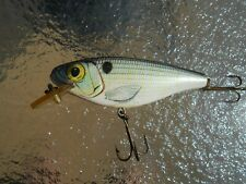Vintage Rebel Baitfish Lure, shallow, floating Alewife, w/ rattles. 3 in. long.