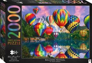 2000 Piece Jigsaw Puzzle Deluxe Collection - Balloon Festival