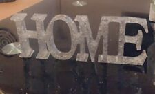 Silver 3D Home Sign -Free Standing Ornament Decoration Other Colours Available