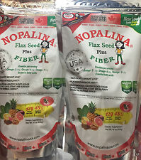 2 Pack Nopalina Flax Seed Plus ( Linaza ) 16 oz Weight Loss  NEW  FREE SHIPPING!