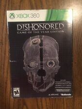 Dishonored -- Game of the Year Edition (Microsoft Xbox 360, 2013)