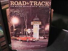1958--Octobber  ROAD & TRACK  Magazine