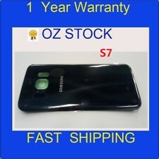 NEW 1xSamsung Galaxy S7 Back Rear Glass Housing Battery Cover Case Black