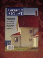 AMERICAN ARTIST Magazine October 2004 Peter Poskas Janice Wilke Victor Martinez