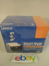 Brand New  Factory Sealed Cisco-Linksys Network Storage System with 2 Bays