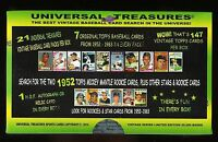2014 CHASE BOX 1950'S 1960'S 1970'S 1980S FIND 1952 TOPPS MICKEY MANTLE 21 PACKS