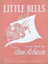 Little Bells Piano Solo, 1962, vintage paino music