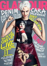 Glamour Magazine August 2017 American USA Cara Delevingne NEW