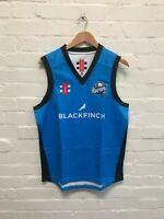 Worcestershire Rapids Gray Nicolls Cricket Men's Sleeveless Jumper Blue - New