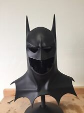 Returns style cowl to use with a superhero or batman costume and cape