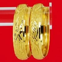Indian Gold Plated Bangle Traditional Bracelet Women Party Jewelry 2*6,2*8 Bsv12