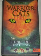 Buch Warrior Cats Staffel 1 Band 6 Stunde der Finsternis, gebunden - sehr gut