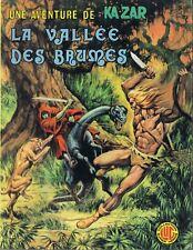 Une aventure barbare de Ka-Zar 3 La vallée des brumes Buscema Conway 1977