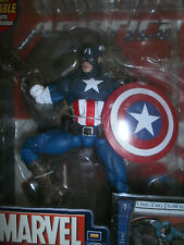 MARVEL LEGENDS SERIES 8 CLASSIC CAPTAIN AMERICAN VARIANT WITH 32 PAGE COMIC BOOK