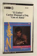 El zatiro carlos manuel y orq con el aima(Audio Cassette)