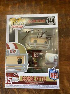 George Kittle Signed Funko POP Psa Dna Coa Autographed San Francisco 49ers