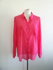 Bold Hues! Regatta size 16 vibrant fuchsia shirt in excellent condition