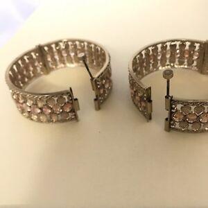 Gold kundan polki pair bangles kara bracelet churi Kangan Free Size Screw Cuff
