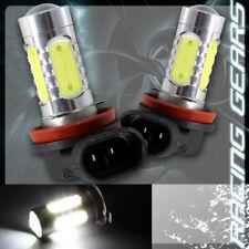 2x For Ford Honda Lexus H11 White 10 LED Projector Low Beam Fog Lights Lamp Bulb