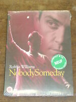 ROBBIE WILLIAMS Nobody someday DVD NEUF