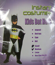 Brand New Batman Bat Hero Super Hero Costume Children Kids Fancy Dress Up Party