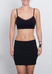 Boob-eez Lace Edge Bralette One Size - 027