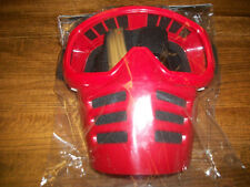 Moto Goggles Red Vintage MX Motocross Goggles with Mask like old Scott Goggles