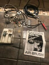 Badger Model 200 Air Brush And More