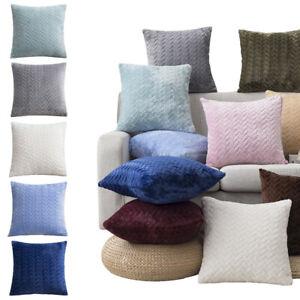 Pillow Cover Velvet Living Room Sofa Home Decorative Cushion Case House