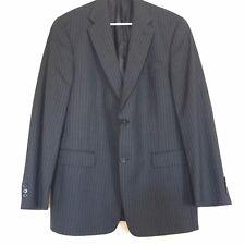 Hart Schaffner Marx Mens Suit Blazer Jacket Size 42L Blue PinStripe Nordstrom