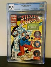 Silver Surfer Annual #6 CGC 9.4 White Pages - 1st Legacy Captain Marvel