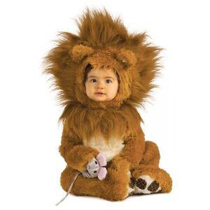 Lion Costume Baby Infant Newborn Halloween Fancy Dress King Cub Noah Ark Simba
