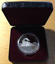 Canada 1986 Silver Dollar, KM-149, Proof, Vancouver Centennial (Box5)