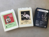 Lot (3) 8 Track Frank Sinatra Ol' Blue Eyes is Back Only the Lonely & Christmas