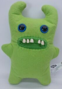 Sir Horns A Lot Green 9-inch Fuggler Funny Ugly Monster Missing Tooth Plush